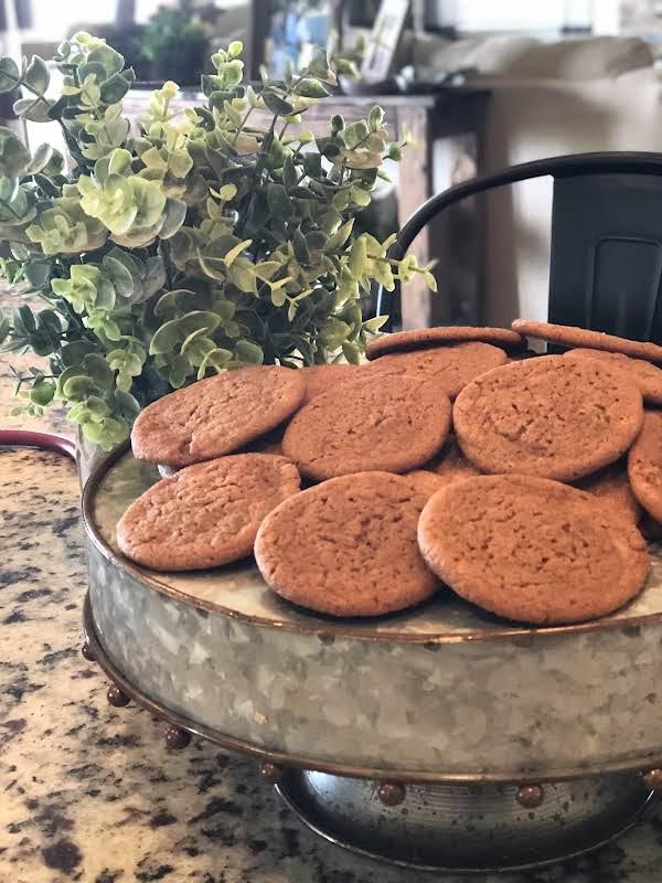 Grandma Hetland's Molasses Cookies Recipe