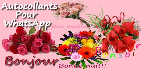 Wastickerapps Bonjour Bonsoir Aplicaciones En Google Play