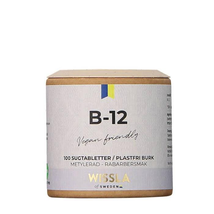 Wissla of Sweden Vitamin B12 med rabarber