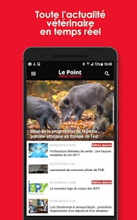 Le Point Vétérinaire.fr- screenshot thumbnail