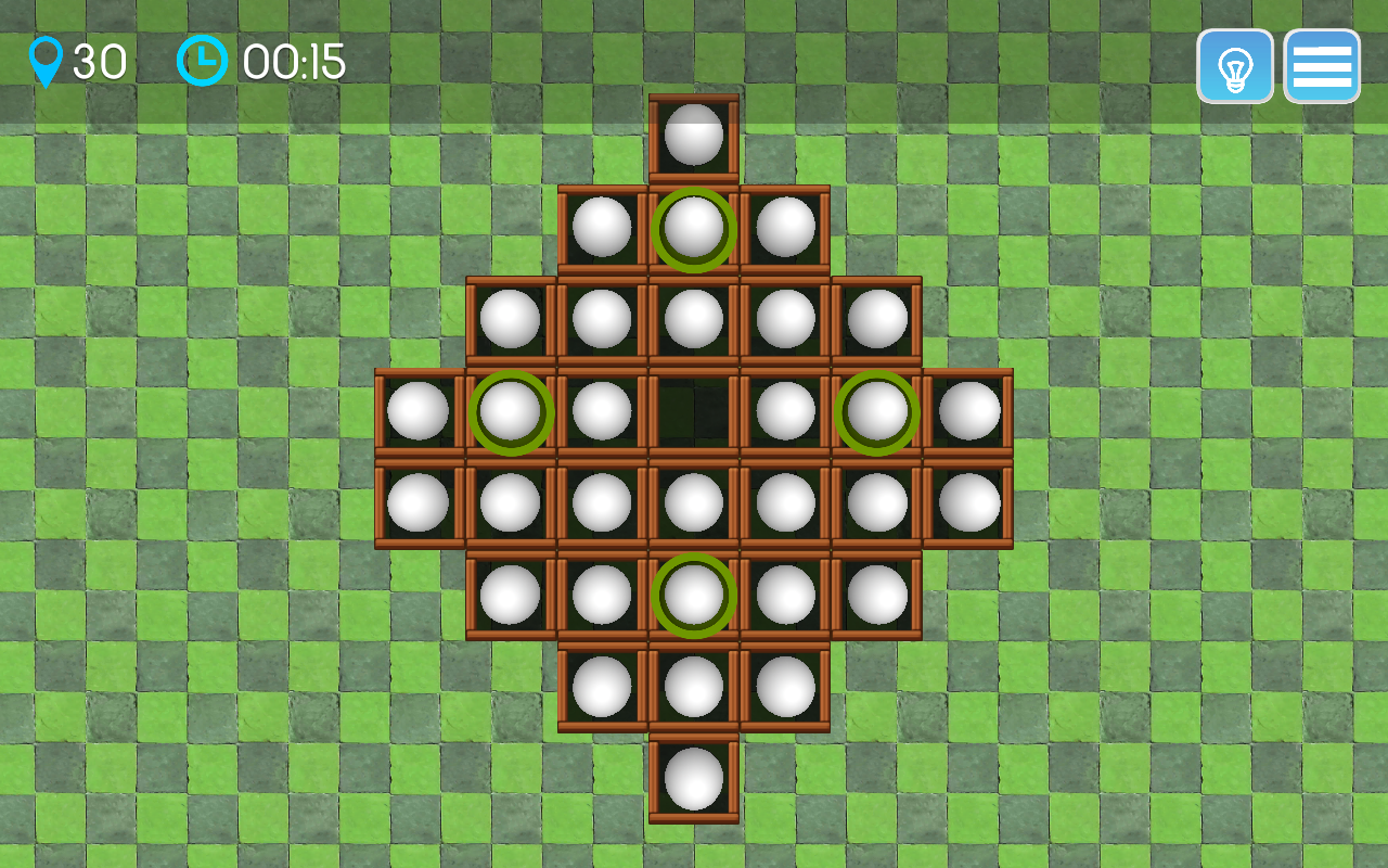 Peg Solitaire Ultra- screenshot