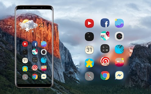 Theme Iphone Xr icon pack Concept ios Screenshot