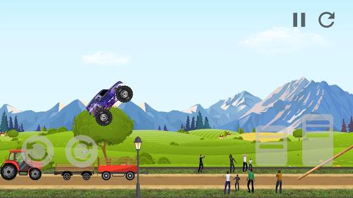 Code Triche Monster Truck Crot: Monster truck racing car games APK MOD screenshots 2