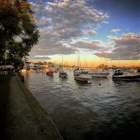 Christchurch quay  by Mark Usher - Instagram & Mobile Instagram ( christchurch dorset sky clouds river )