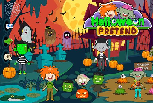 My Pretend Halloween - Trick or Treat Friends FREE 1.1 screenshots 6