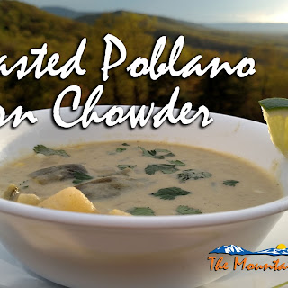 Roasted Poblano Corn Chowder