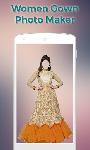 Women Gown Dress Photo Maker 1.1 screenshots 2