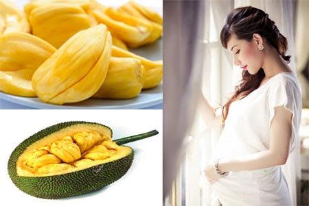 Phụ nữ khi có thai nên hạn chế ăn nhiều mít