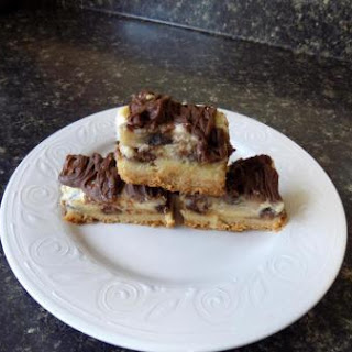 Chocolate Peanut Butter Banana Gooey Bars