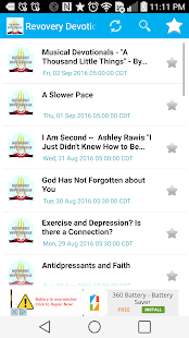 Addiction Recovery Devotionals- screenshot thumbnail