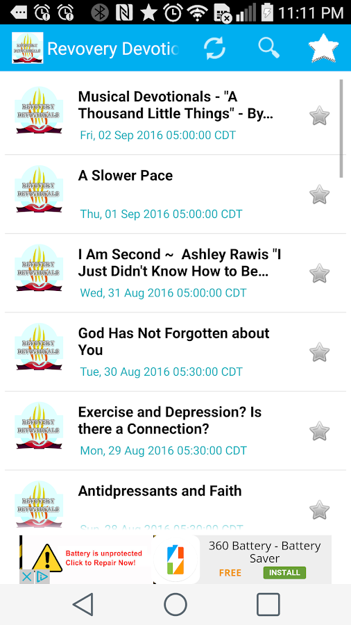 Addiction Recovery Devotionals- screenshot