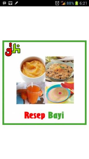 Resep Masakan Bayi