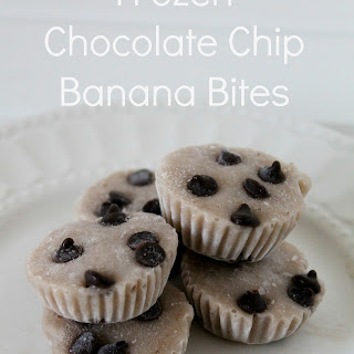 Frozen Chocolate Chip Banana Bites