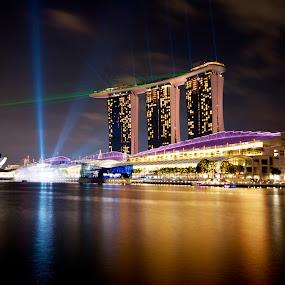 Marina Bay Sands by Samson Calma - Buildings & Architecture Architectural Detail ( mbs, marina bay )