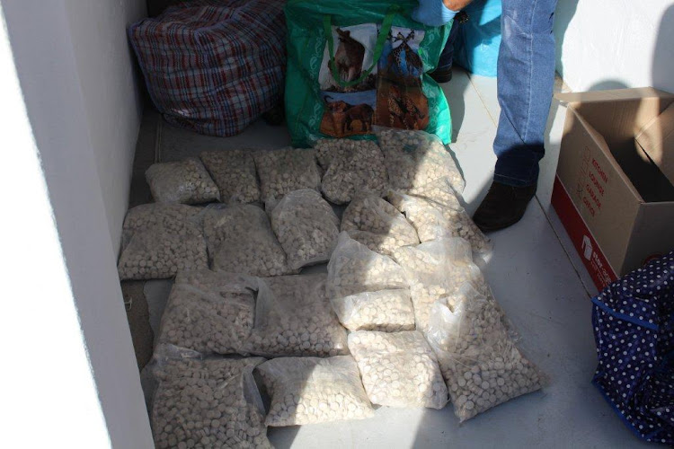 Police on Wednesday November 14 2018 arrested a man in Somerset West with about R8.9m in drugs.