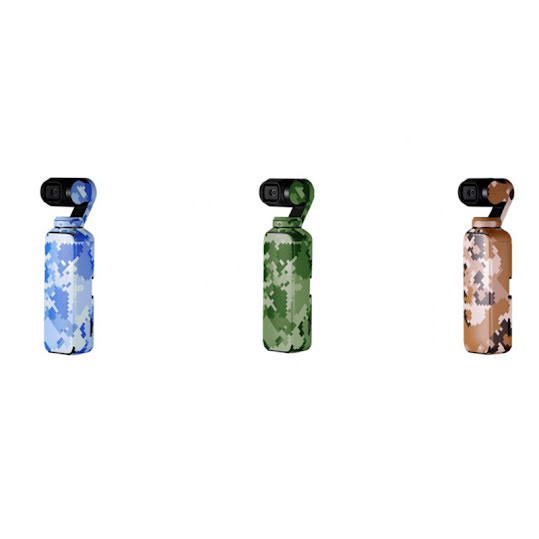 PGY-Tech Skyddsfilm Till OSMO Pocket Digital Camouflage