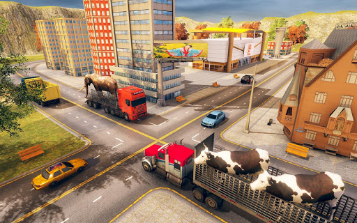 Wild Animal Transporter Truck Simulator Games 2018 screenshots 6