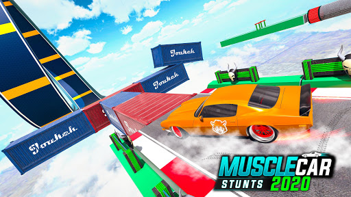 Muscle Car Stunts 2020: Mega Ramp Stunt Car Games 1.2.1 screenshots 6