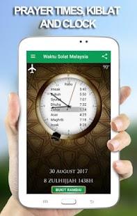 Waktu Solat Malaysia - náhled