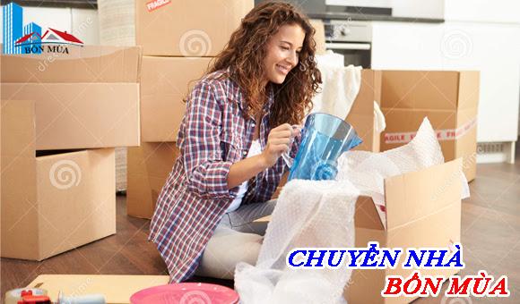 Các bước cơ bản đóng gói đồ đạc phòng bếp trong dịch vụ chuyển nhà