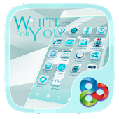 White For You GO LauncherTheme