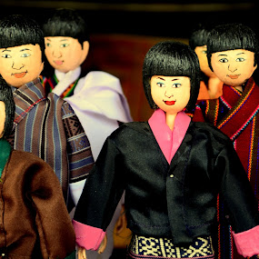 toy family by Riju Banerjee - Artistic Objects Toys