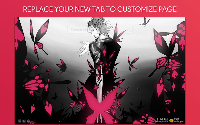 D.Gray-Man Wallpaper HD Custom New Tab