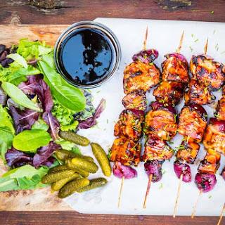 BBQ Pineapple Chicken Kebabs Recipe