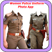 Women Police Uniform Photo App