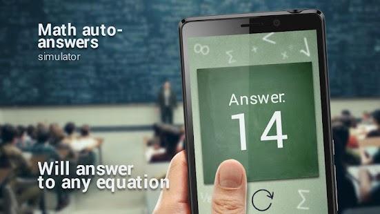Matematika odpovědi simulátor - náhled