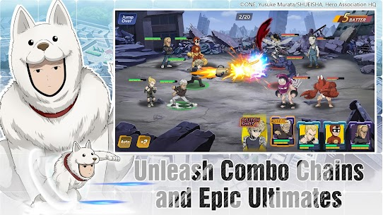 One-Punch Man: Road to Hero 2.0 MOD Apk 2.0.28 (Unlimited Money) 5
