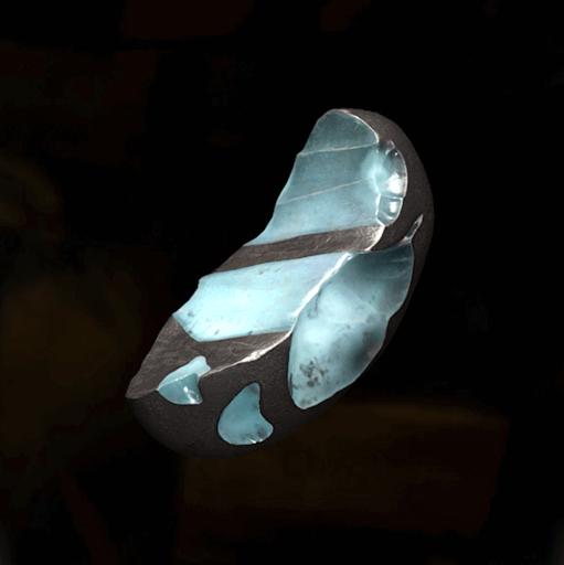にび石の塊