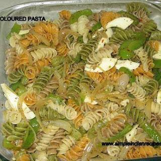 Tri Color Pasta Recipes