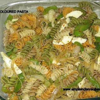Tri Color Pasta Recipes.