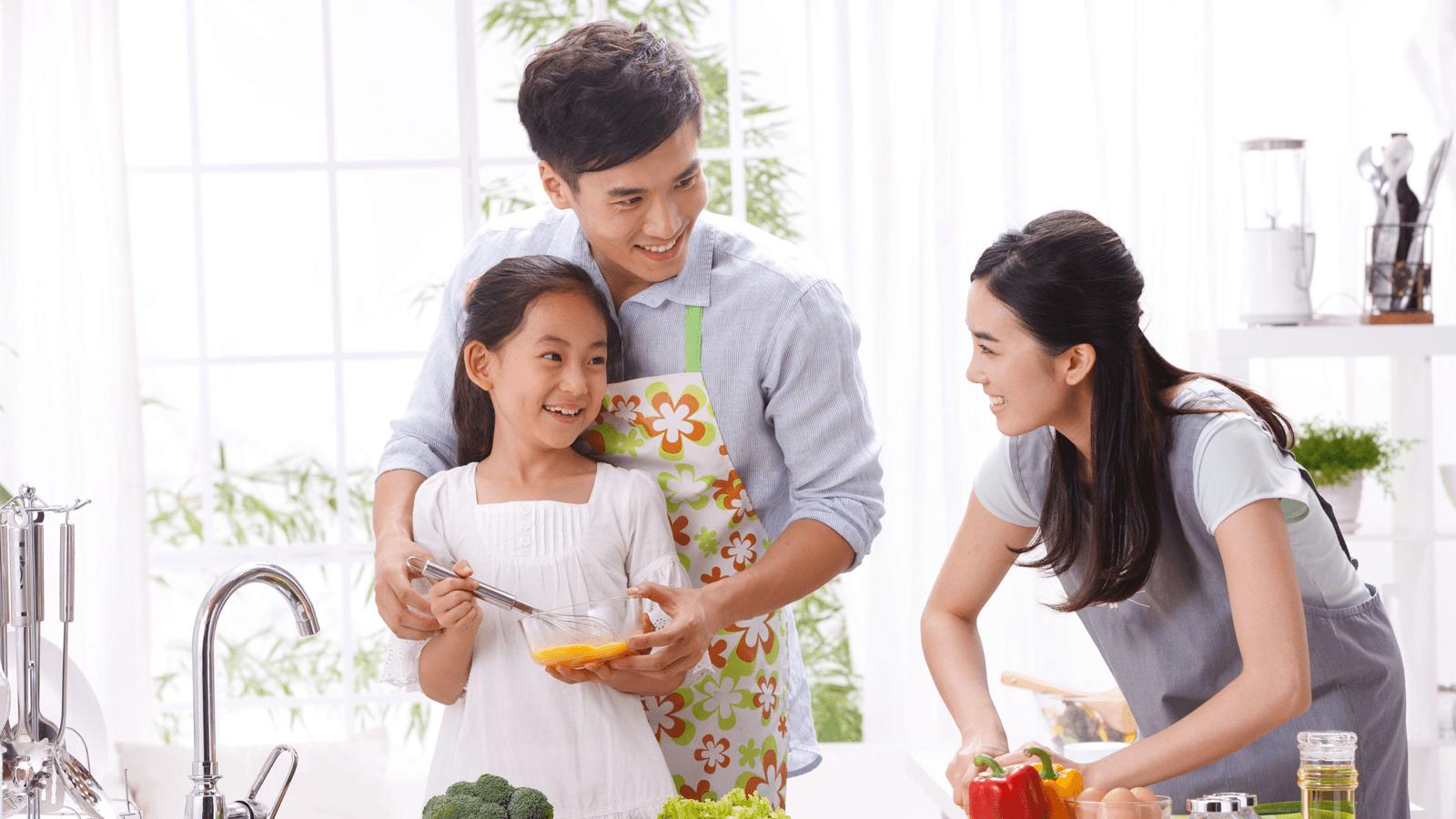 Chia sẻ công việc gia đình