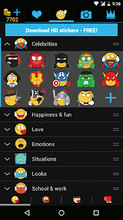Emojidom Smileys for Chat- screenshot thumbnail
