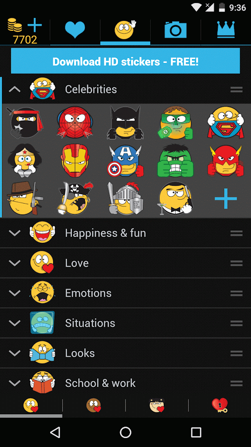 Emojidom Smileys for Chat- screenshot