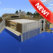 Redstone mansion map for MCPE