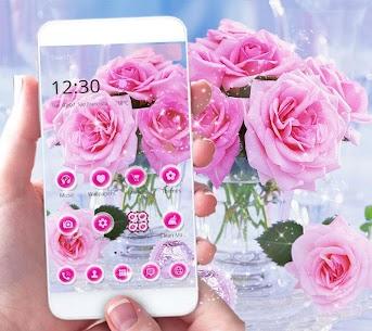 Pink Rose Love Theme 1.2.1 [MOD APK] Latest 1