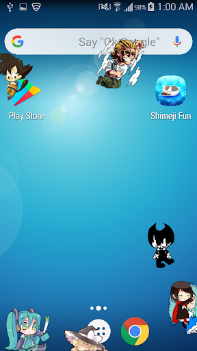 Shimeji Friends  screenshots 1