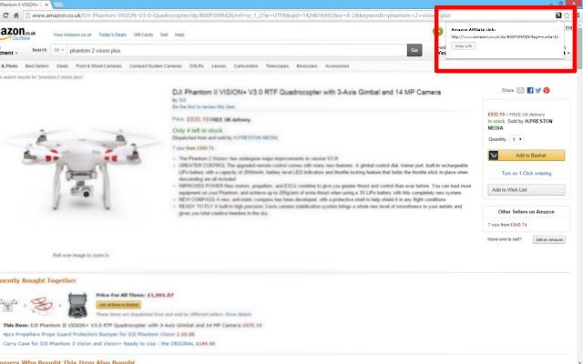 Amazon Affiliates Link Maker
