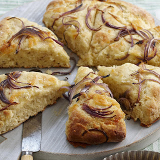 Cheddar Cheese and Red Onion Scones