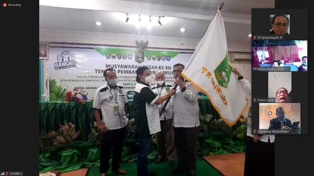 Sudirman D'hury Terpilih menjadi Ketua Umum TP Sriwijaya