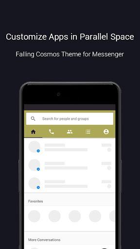 Falling Cosmos Theme-Messenger 1.0.3466 screenshots 2