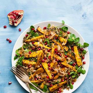 Indian-Spiced Parsnip & Lentil Salad