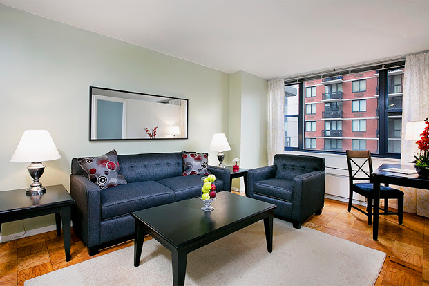 living space at 1 Bedroom Apartment at Murray Hill