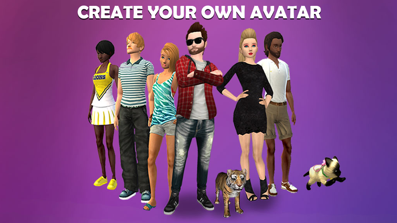 Avakin life 3d virtual world android apps on google play for Create your own building