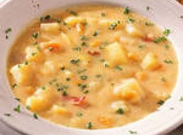Jodie's Bacon Carrot Potato Soup Recipe