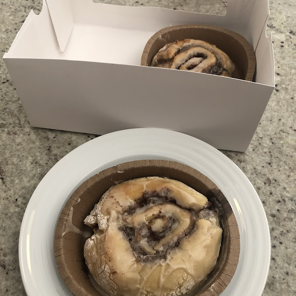 These cinnamon rolls are heavenly!
