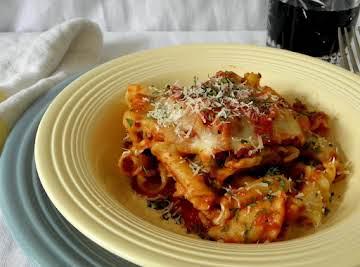 My Skillet Lasagna